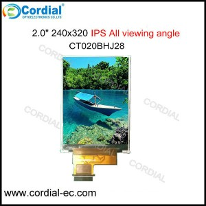 2.0 inch IPS TFT LCD MODULE CT020BHJ28
