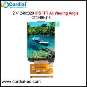 2.4 inch IPS TFT LCD MODULE CT024BHJ18