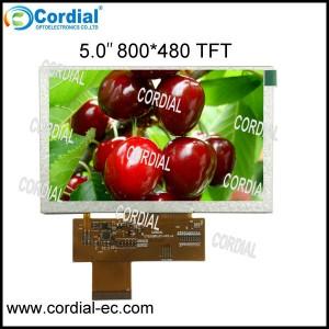 5.0 inch TFT LCD MODULE CT050BPL07
