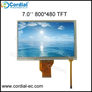 7.0 inch TFT LCD MODULE CT070BPL17